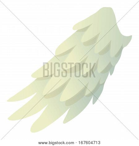 Seraphic wing icon. Cartoon illustration of seraphic wing vector icon for web
