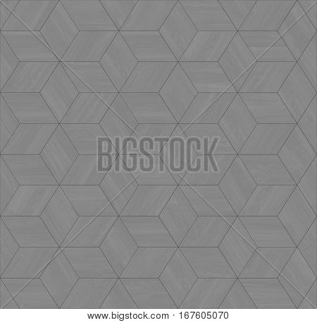 Parquet wood rhombus hexagon repeating floor texture