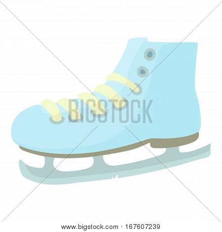 Ice skate icon. Cartoon illustration of ice skate vector icon for web