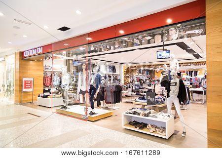 Kuala Lumpur, Malaysia -  January 29, 2017: Cotton On Is Australian Retail Chain, Retails Fast-fashi