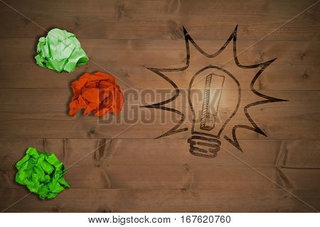 flare against bleached wooden planks background