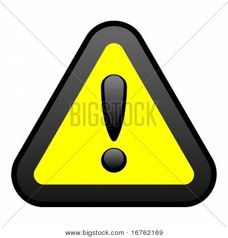 Yellow Warning Sign