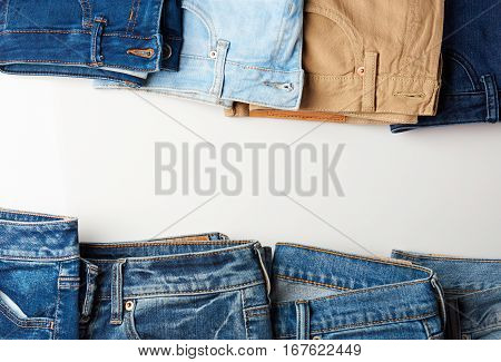 Colorful Jeans Boarder