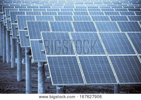 solar energy panels closeup photovoltaic modules and clean energy
