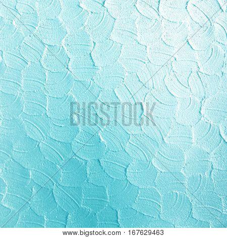 white blue gradient concrete wall texture background