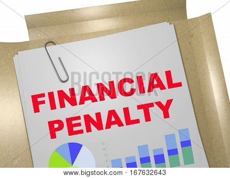 Financial Penalty - Business Concept