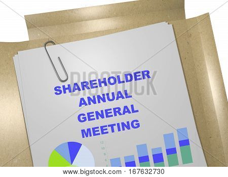 Shareholder Annual General Meeting - Business Concept