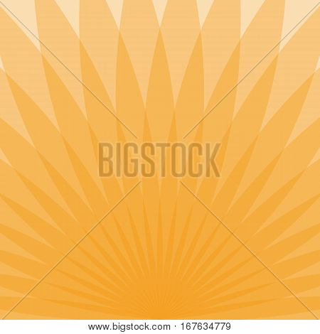 Abstract Orange Transparent Background
