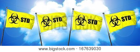 STD flag, 3D rendering