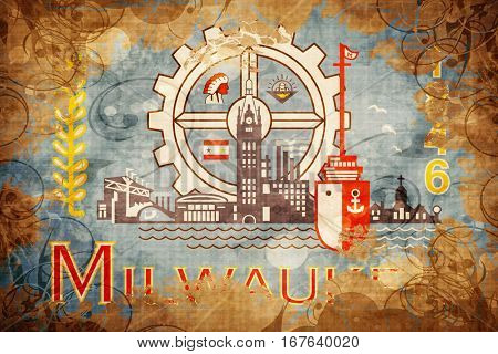 Vintage Milwaukee flag