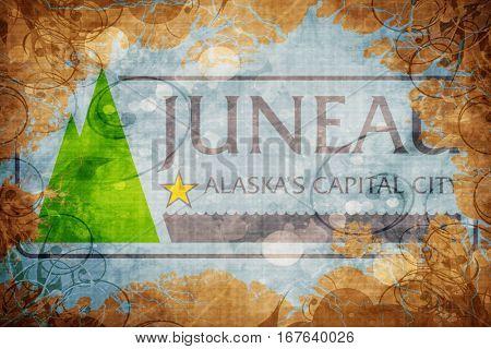 Vintage Juneau flag