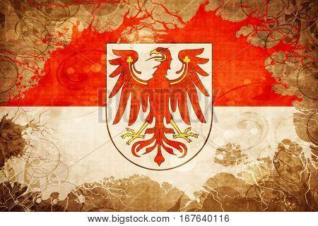 Vintage Brandenburg, brannenborg flag