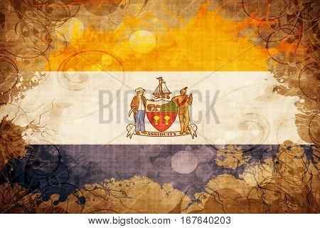 Vintage Albany flag