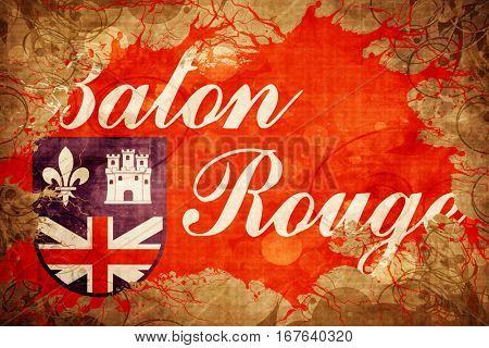 Vintage Baton rouge flag