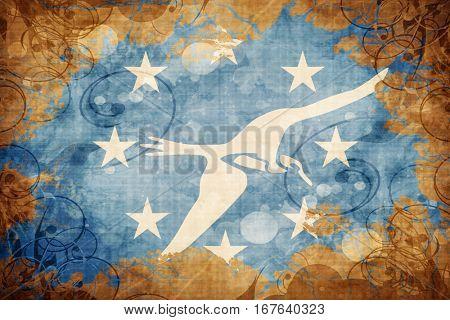 Vintage Corpus christi flag