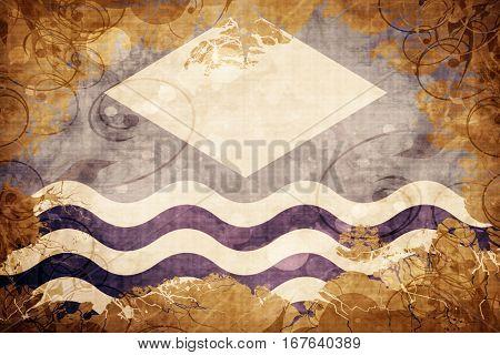 Vintage Isle of wight flag