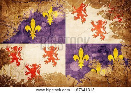 Vintage Picardie flag