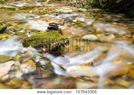 River Trevillet running through St Nectan's Glen.