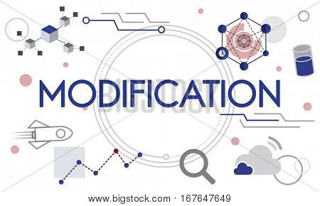 Modification Application Invention Technology Icon