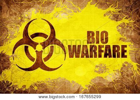 Grunge vintage Bio warfare