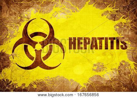 Grunge vintage Hepatitis