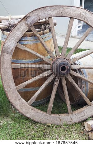 Cart wheel costs and waits for the cart