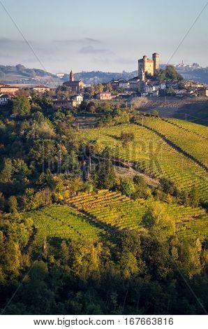 Le Langhe Serralunga d Alba and landscape