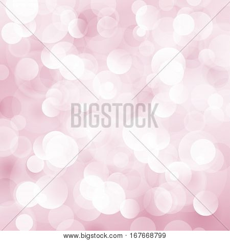 Pink Soft Bright Abstract Bokeh Background, Soft Glow of the Sun ,Defocused Lights