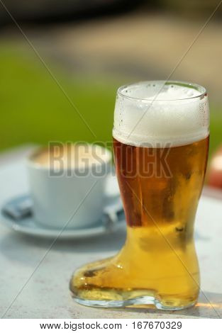 Boot Shaped Beer Glass