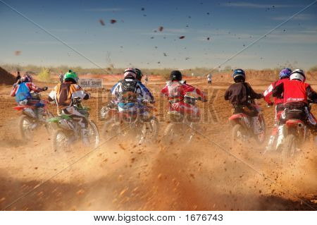 Motocross Start