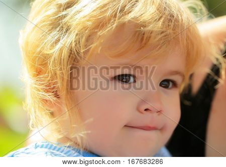 Cute Baby Boy With Adorable Face