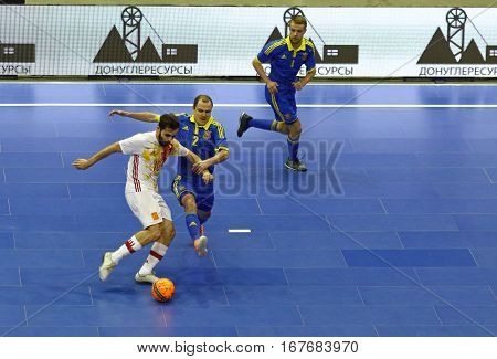 Friendly Futsal: Ukraine V Spain In Kiev, Ukraine