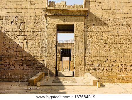 The great temple of Hatshepsut, Karnak, Luxor, Egypt
