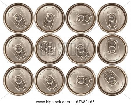 Dozen cans of drinks pack
