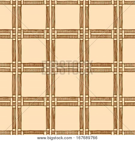 Square. The simple vintage geometric pattern of squares. Set of dot patterns. Halftone pattern in ink hand drawn style.