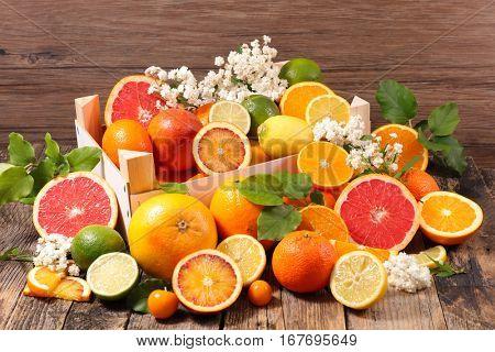 lemon,orange,grapefruit
