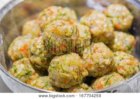 Stuffing To Make Moon-cake For Chinese And Vietnamese Traditional Mid-autumn Festival In Every Full