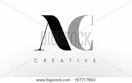 A C Letter Logo Design. Creative Modern AC Letters Icon Illustration.