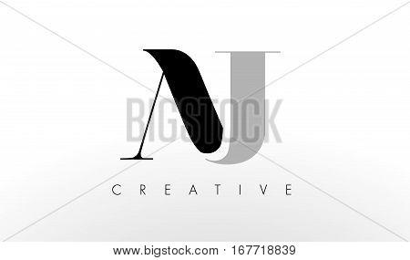 A J Letter Logo Design. Creative Modern AJ Letters Icon Illustration.