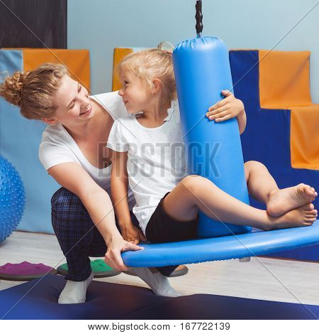 Exercises For Kid During Sensory Integration Class