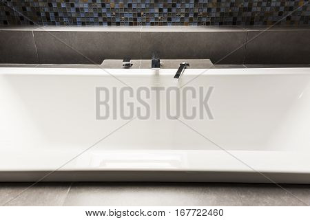 Bath With Steely Tap