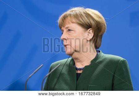 Chancellor Of The Federal Republic Of Germany Angela Merkel