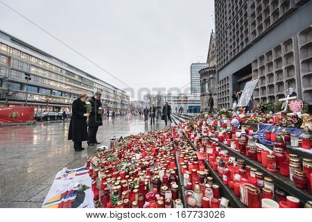 Place Of Terrorist Act In Berlin On December 19, 2016