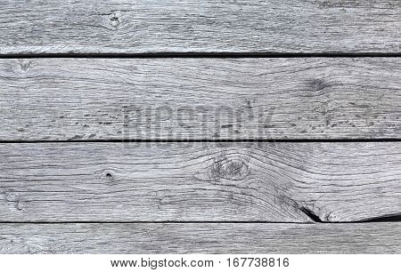 Gray blue wood texture and background. Rustic, old wooden surface. Timber planks