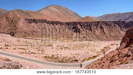 Badlands and Ruta 52 to Salinas Grandes (Argentina)