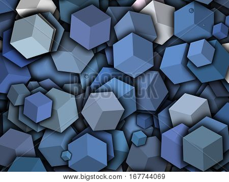 geometry animated contoured cubes cover design,abstract geometry shapes pattern