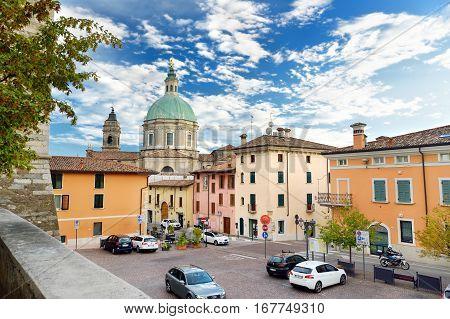 Lonato Del Garda, Italy - September 19, 2016: Beautiful Views Of Lonato Del Garda, A Town And Comune