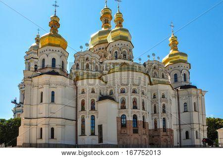 Uspensky Cathedral in Kiev Pechersk Lavra, Kiev, Ukraine