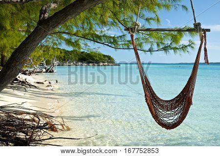 Volleyball Beach, Stocking Island, Exuma, the Bahamas