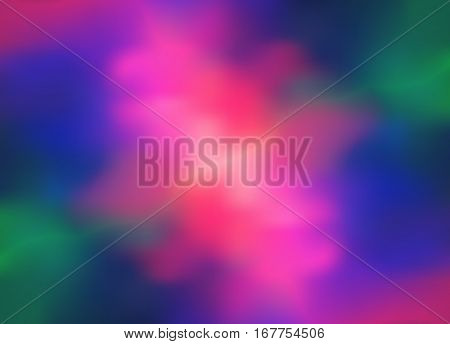 Bright background with a holographic effect. Vector illustration for posters, covers, flyers, banners